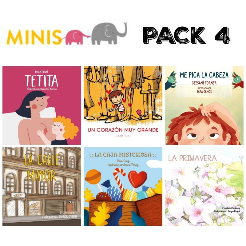 serie1 - Pack 6 minis
