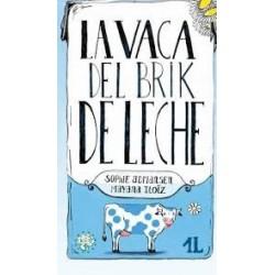 La vaca del brik de leche