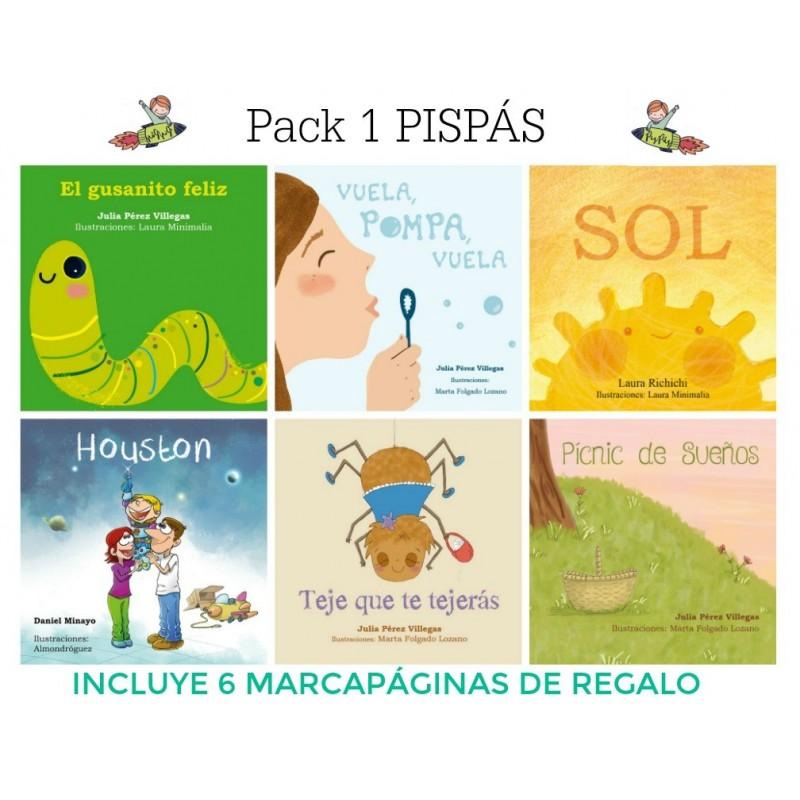 Pack 1- minilibros Pispás