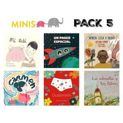 serie 5 - MINIS PACK 5 CASTELLANO