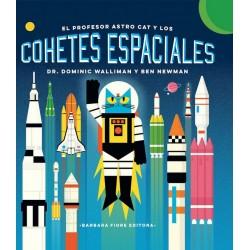 El profesor AstroCat y los cohetes espaciales