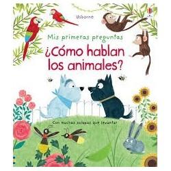 ¿como hablan los animales