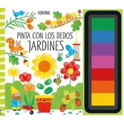 Pinta con los dedos -jardines