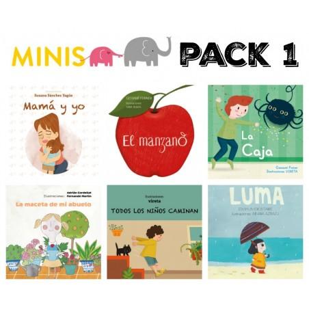 serie 1 - pack 6 minis CASTELLANO