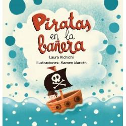 Piratas en la bañera - minilibro Pispás