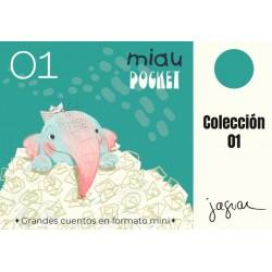 MIAU POCKET 01 - PACK 5 MINILIBROS