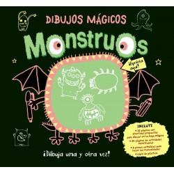 Dibujos mágicos monstruos