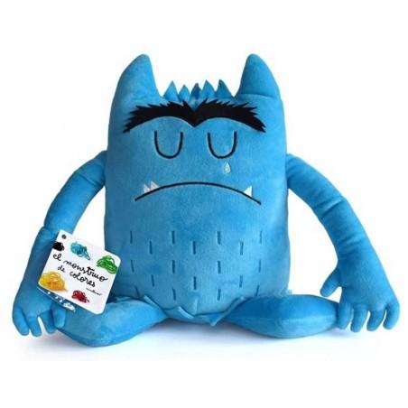 Peluche azul- Monstruo de Colores