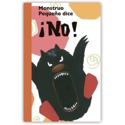Monstruo pequeño dice ¡NO!