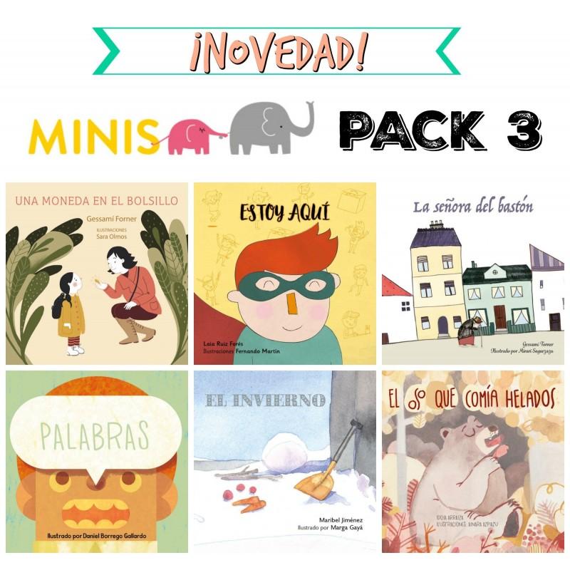 serie 3 - MINIS PACK 3 CASTELLANO